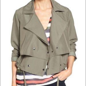 HALOGEN Soft Utility Jacket